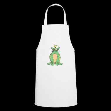 Funny cat - Cooking Apron