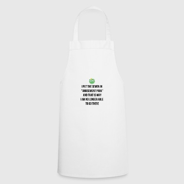 I put the semen in Amusement park - Cooking Apron