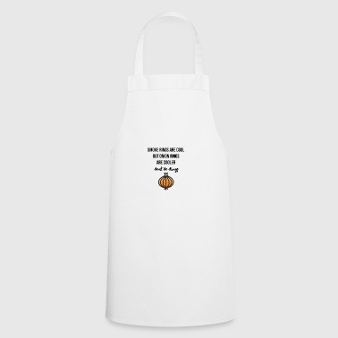 Smoke rings are cool - Cooking Apron