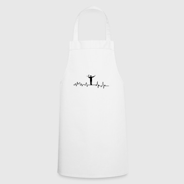 Heartbeat traffic cop T-Shirt traffic jam - Cooking Apron