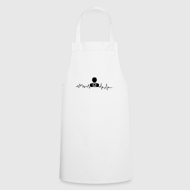 Heartbeat Lawyer T-Shirt Gift Justice - Cooking Apron