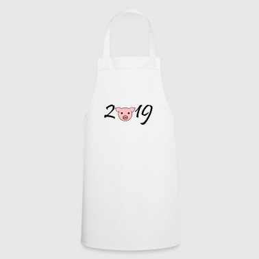 2019 year of the pig China new year gift idea - Cooking Apron