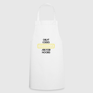Cheat Codes Gamers Gaming Play Game Gift - Cooking Apron