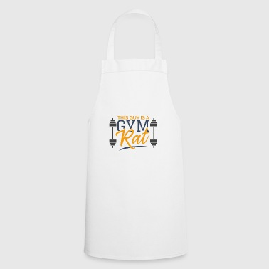 This Guy is a Gym Rat Sports Gift Training - Cooking Apron