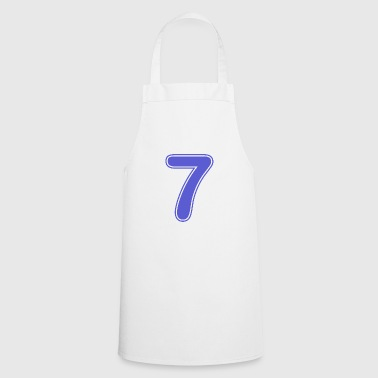 Number - Shirt number - 7 - Cooking Apron