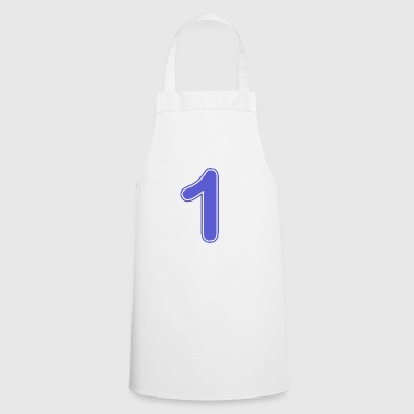 Number - Shirt number - 1 - Cooking Apron