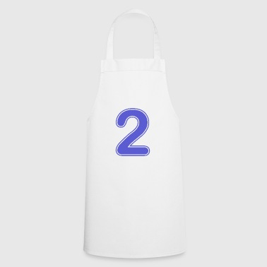 Number - Shirt number - 2 - Cooking Apron