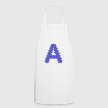 Alphabet - Letter - A - Cooking Apron