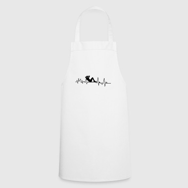 Heartbeat Athlete T-Shirt Gift Fitness Sport - Cooking Apron