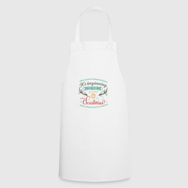 It looks like Christmas - Cooking Apron