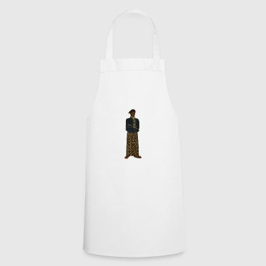 Native American / Indian with skirt - Cooking Apron