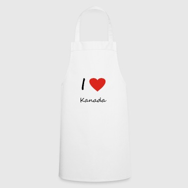 Canada heart gift idea - Cooking Apron