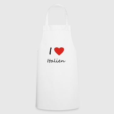 Italy heart gift idea - Cooking Apron