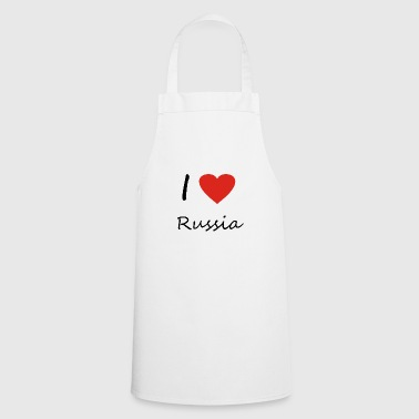 Russia heart gift idea - Cooking Apron