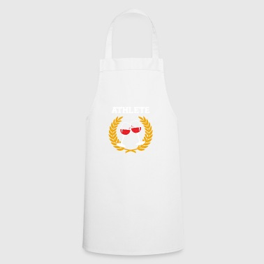 Funny Wine Athlete T-shirt - Cooking Apron