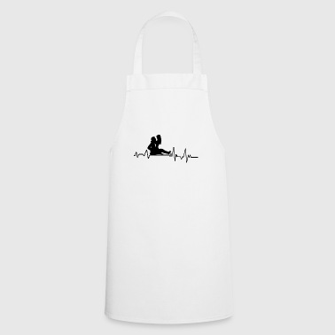 Hearbeat Sex T-Shirt Gift Relationship Partner - Cooking Apron