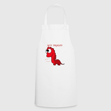 Red Dragon - RAWR - Cooking Apron