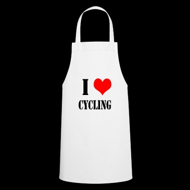 I Love Cycling - Cooking Apron