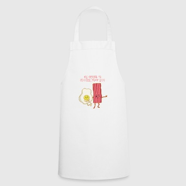 The best friends - Bacon fried egg - Cooking Apron
