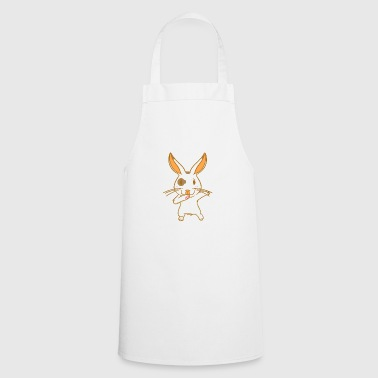 Rabbit - karate - fighting hare - dancing hare - Cooking Apron