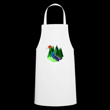 No App Nature Outdoor Sun Action Gift Shirt - Cooking Apron