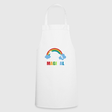 Unicorn Moms Are Magical T-shirt - Cooking Apron