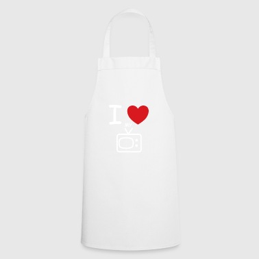 I love my TV saying gift idea - Cooking Apron