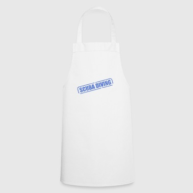 Scuba diving. - Cooking Apron