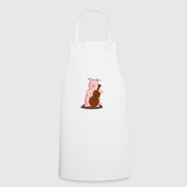 Cello Playing Pig Music - Cooking Apron