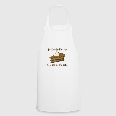 Cake tart cream gift food diet funny - Cooking Apron