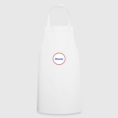 Music Gift Gift Idea Musical Music is life - Cooking Apron