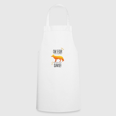 Fox gift idea fox funny - Cooking Apron