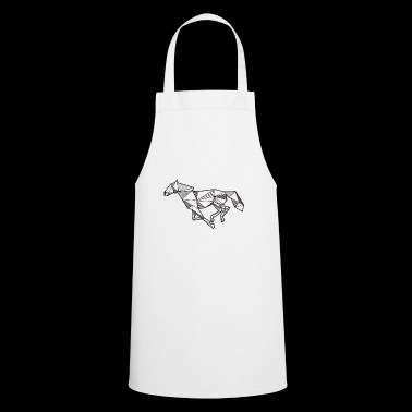 Horse Geometric Gift Idea Rider Animal Gallop - Cooking Apron