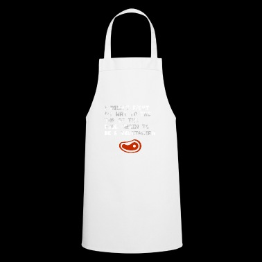 Top of the food chain to be a vegetarian! gift - Cooking Apron