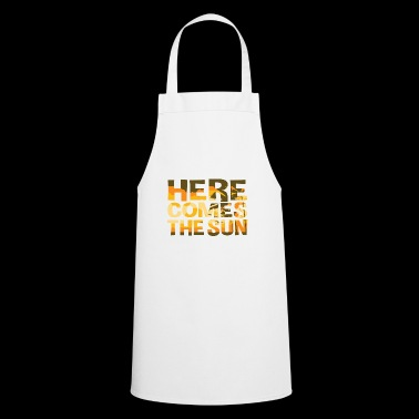 Here Comes The Sun Summer T-shirt - Cooking Apron