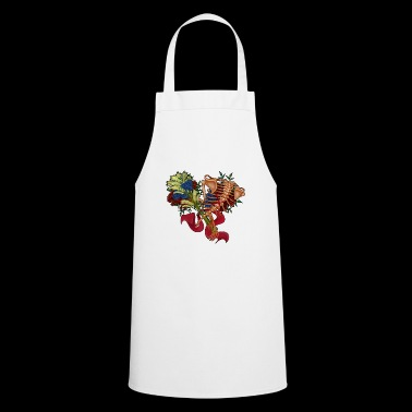 floral spine - Cooking Apron