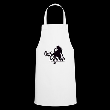 Girl Power Weapon of Women Confident - Cooking Apron