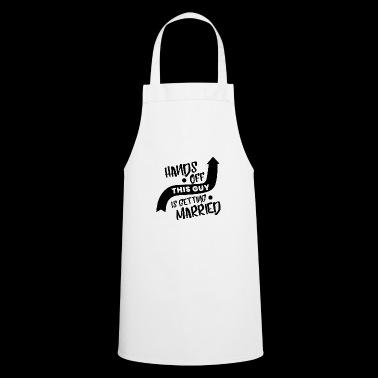 Wedding - future groom - Cooking Apron