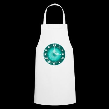 Beer clock always time to drink gift holiday - Cooking Apron