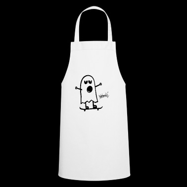 Funny Ghost Funny Spirit Skateboard Steinkrone - Cooking Apron