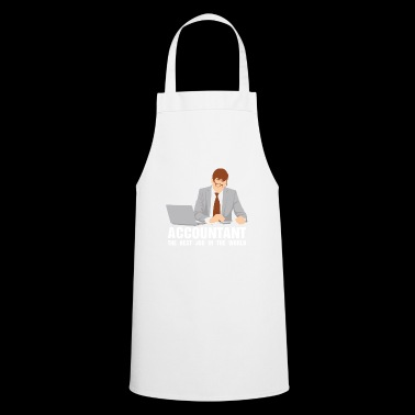 The comptroller works the accounthold career - Cooking Apron
