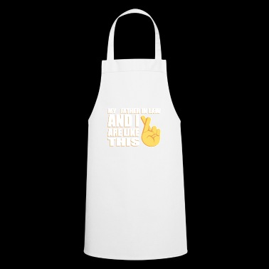 Cross-fingers Father-In-Law T-shirt - Cooking Apron