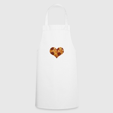 I love pizza - love - Cooking Apron