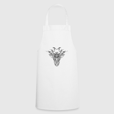 Mystical Animal, Black - Cooking Apron