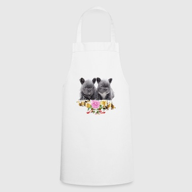 French Bulldogs babies - Cooking Apron