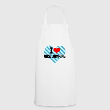 i heart basejumping - Cooking Apron