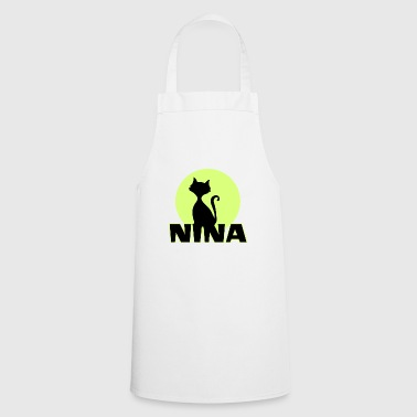 Nina Name First name - Cooking Apron