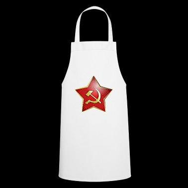 Soviet Union Army star gift idea - Cooking Apron