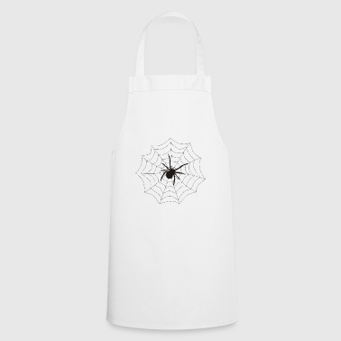 Spider web - Cooking Apron