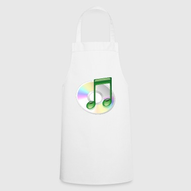 CD music - Cooking Apron